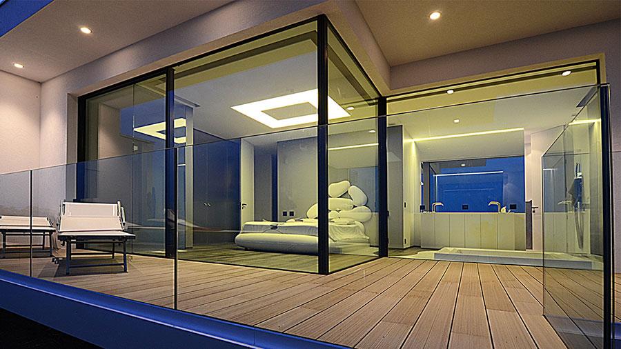 Progetto di casa prefabbrica in legno dal design moderno n.28