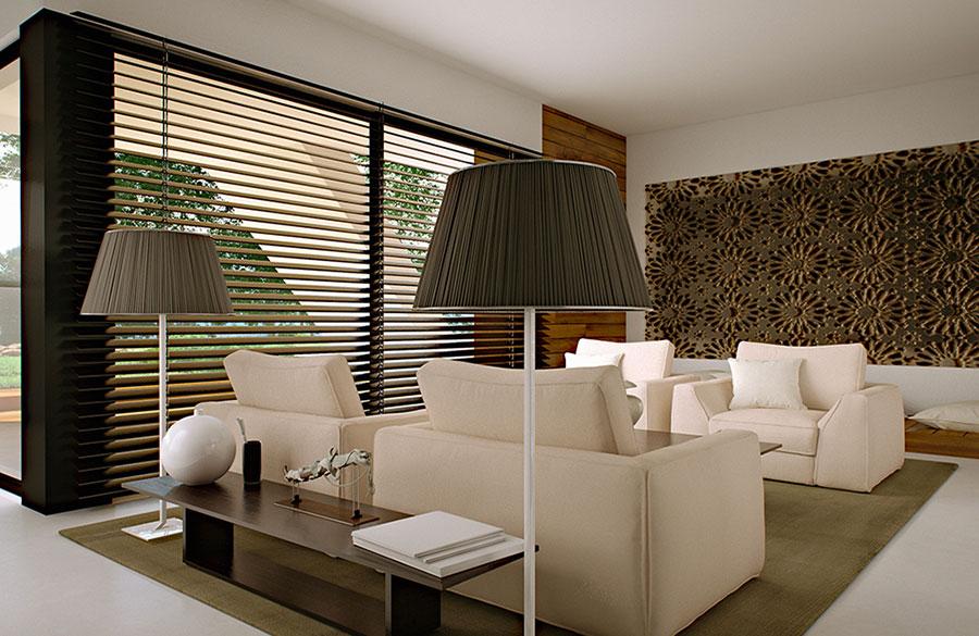 Progetto di casa prefabbrica in legno dal design moderno n.38