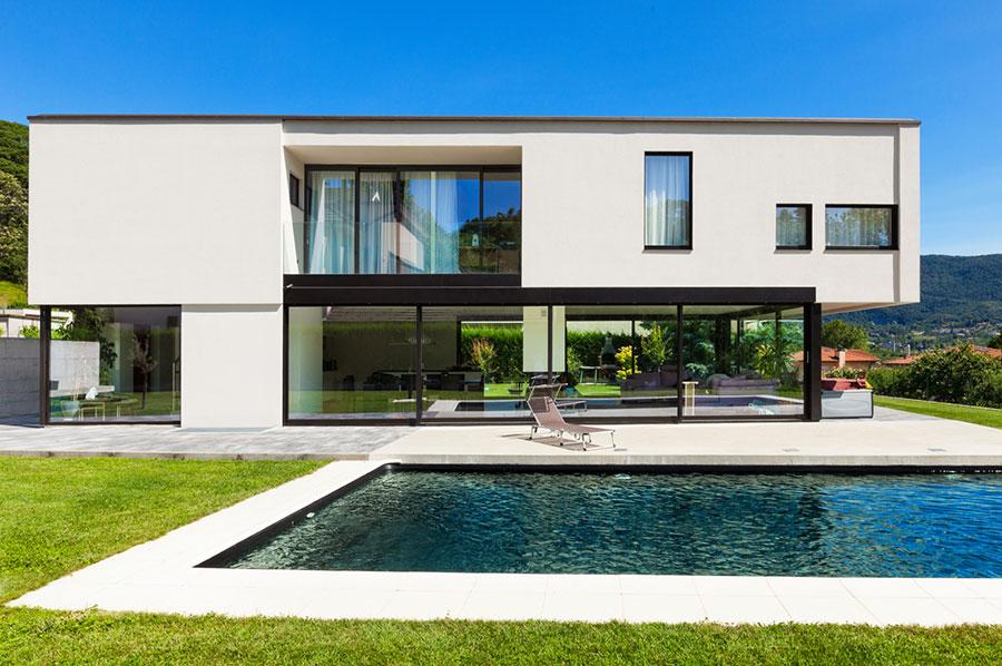 Case prefabbricate in legno ecologiche dal design moderno - Progetto di casa moderna ...