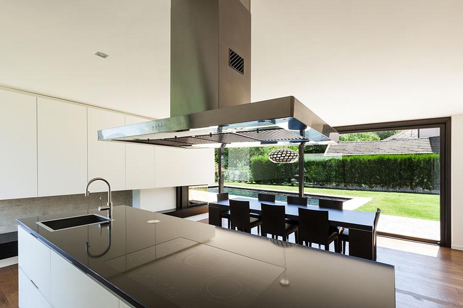 Progetto di casa prefabbrica in legno dal design moderno n.46