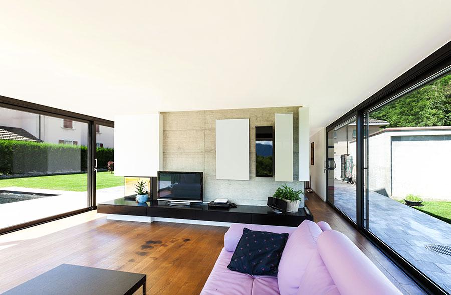 Progetto di casa prefabbrica in legno dal design moderno n.47