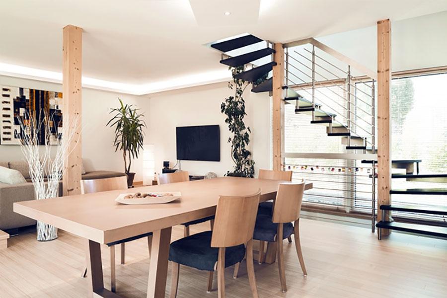 Progetto di casa prefabbrica in legno dal design moderno n.50