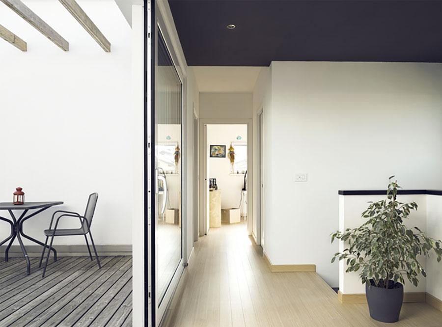 Progetto di casa prefabbrica in legno dal design moderno n.51