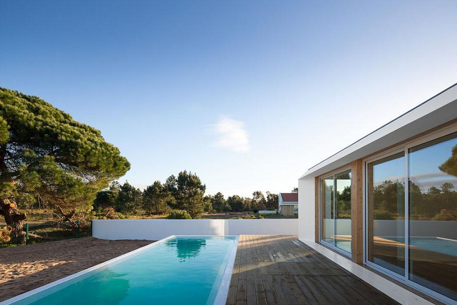 Progetto di casa prefabbrica in legno dal design moderno n.60