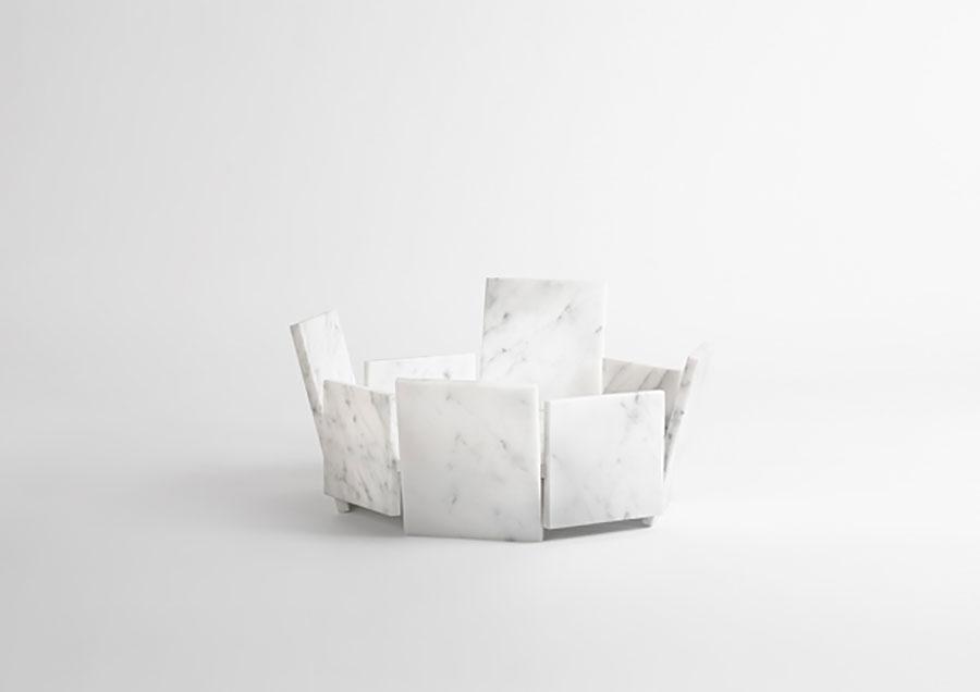 Modello di centrotavola di design n.21
