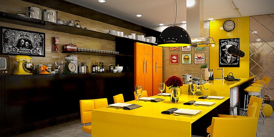Cucina Gialla dal Design Moderno: 20 Modelli a cui Ispirarsi  MondoDesign.it