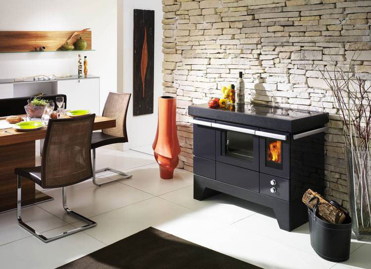 Cucine A Legna Moderne.30 Modelli Di Cucine A Legna Con Forno Integrato