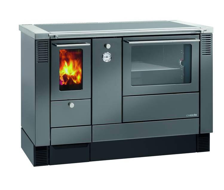 30 modelli di cucine a legna con forno integrato - Cucine a legna e gas ...
