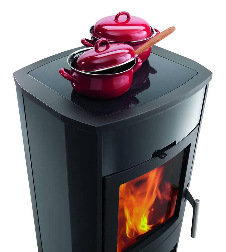 Modello di cucina a legna con forno integrato n.05