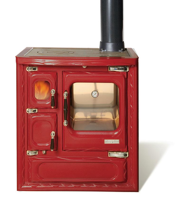 Modello di cucina a legna con forno integrato n.17