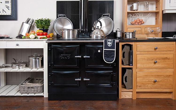 Modello di cucina a legna con forno integrato n.25