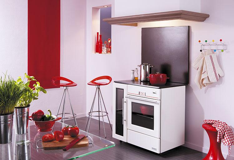 Modello di cucina a legna con forno integrato n.29