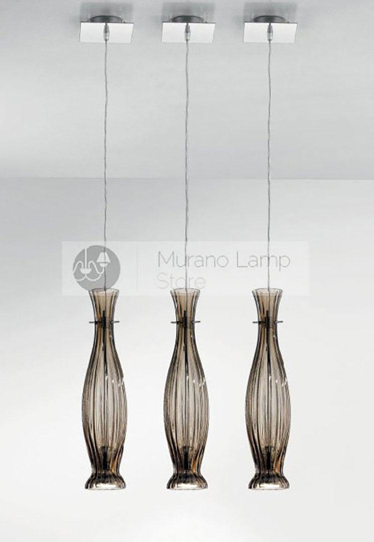 Lampadario in vetro di Murano n.1