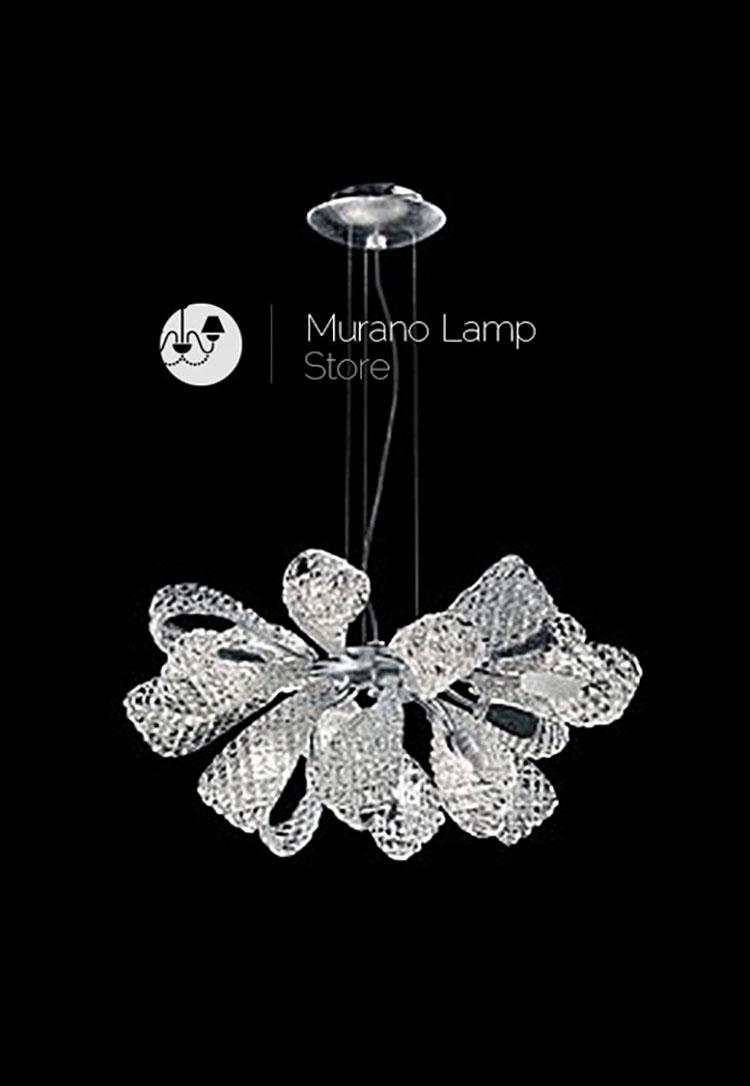 Lampadario in vetro di Murano n.6