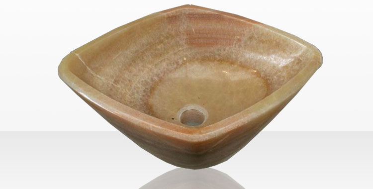 Modello di lavabo bagno in pietra da appoggio originale n.27