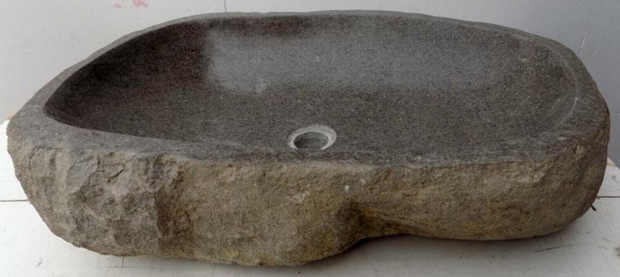 Modello di lavabo bagno in pietra di fiume n.04