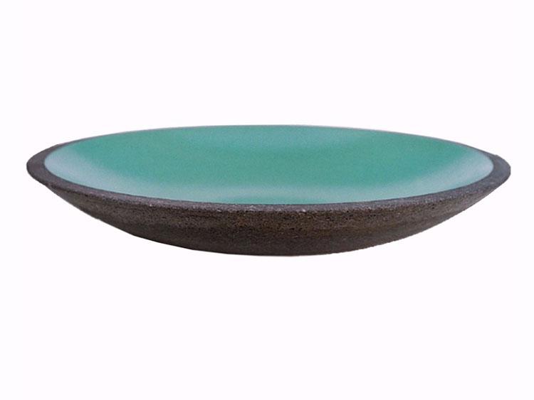 Modello di lavabo bagno in pietra lavica n.01