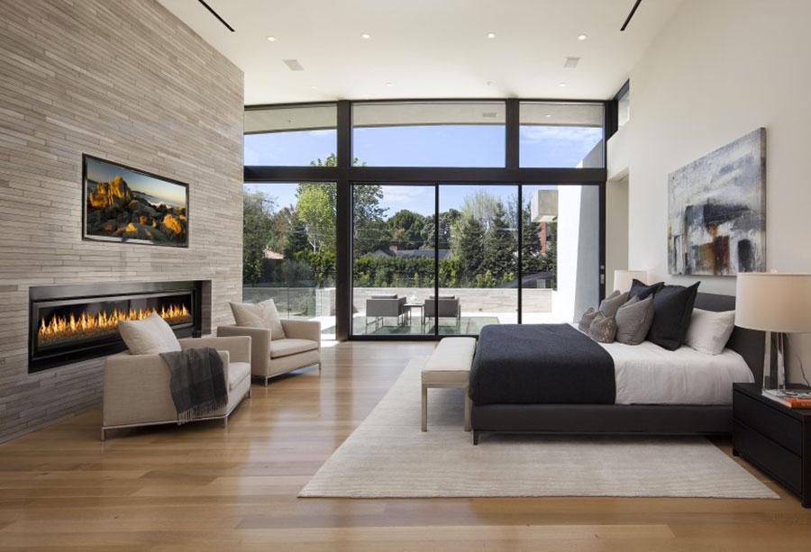 Pareti rivestite in pietra per camere da letto classiche o for Camere da letto moderne 2016