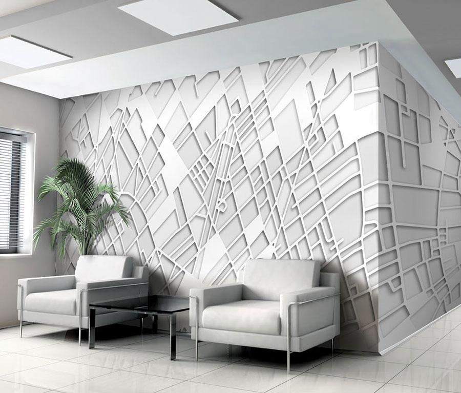 Rivestimenti per pareti interne in PVC originali n.03