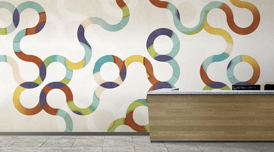 Rivestimenti per pareti interne in PVC originali n.08