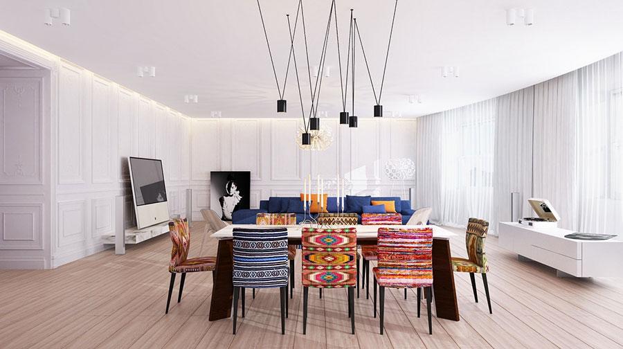 20 idee di arredamento per sala da pranzo davvero originali - Arredare la sala ...