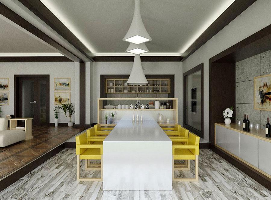 20 Idee di Arredamento per Sala Da Pranzo Davvero Originali ...