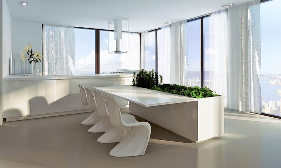 Super 20 Idee di Arredamento per Sala Da Pranzo Davvero Originali  OB49