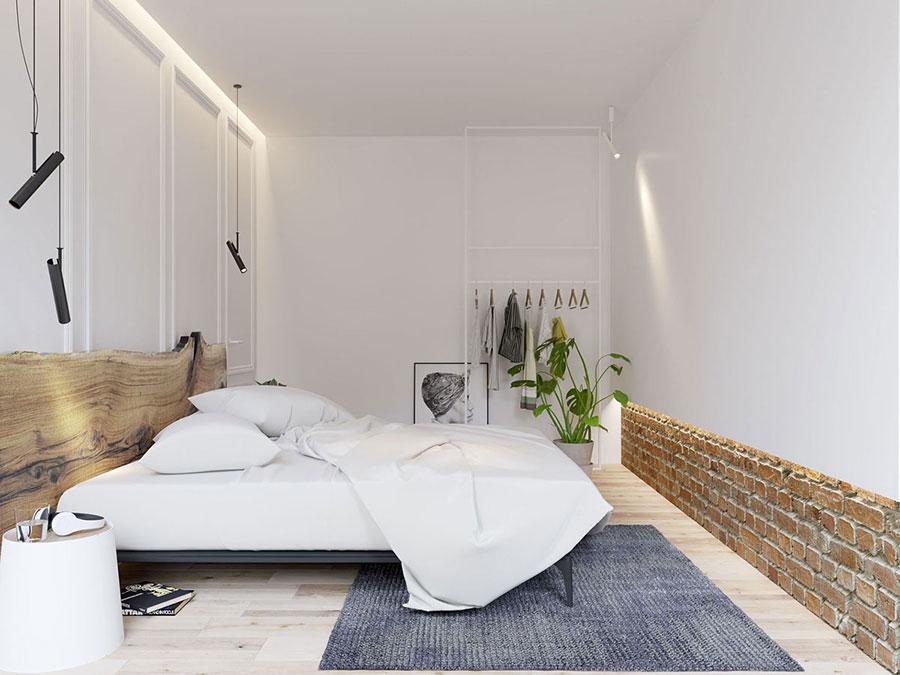 Idea di arredamento minimal per la camera da letto n.33