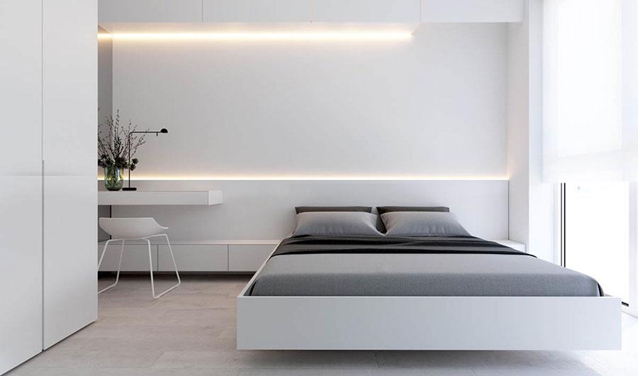 Idea di arredamento minimal per la camera da letto n.34