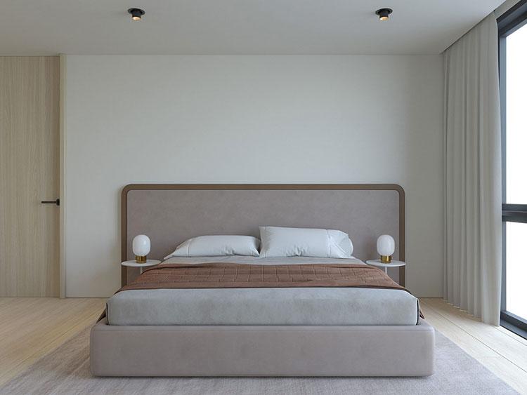 Idea di arredamento minimal per la camera da letto n.38