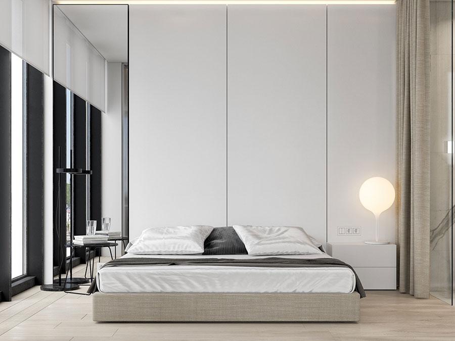 Idea di arredamento minimal per la camera da letto n.46