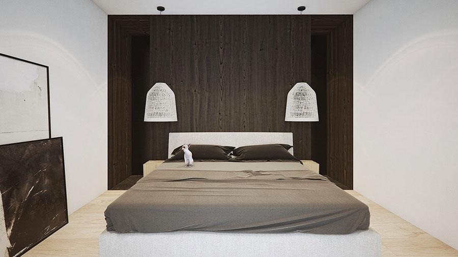 Idea di arredamento minimal per la camera da letto n.48