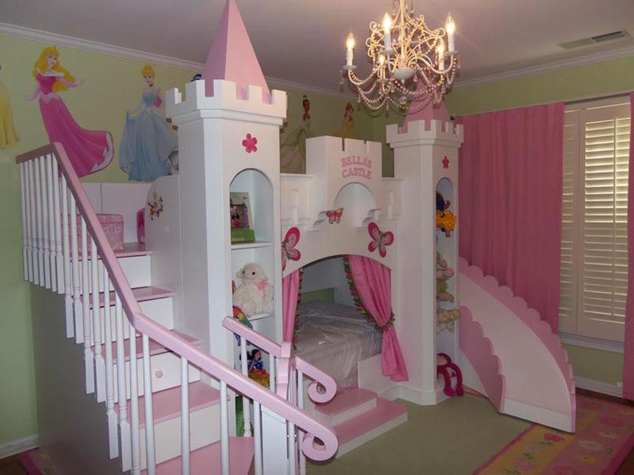 Camerette da sogno per bambini 25 idee originali che vi for Arredamento cameretta bambina