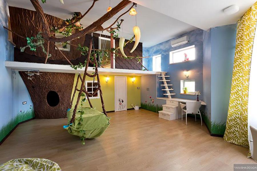 Camere Da Sogno Per Bambini : Camerette da sogno per bambini: 25 idee originali che vi