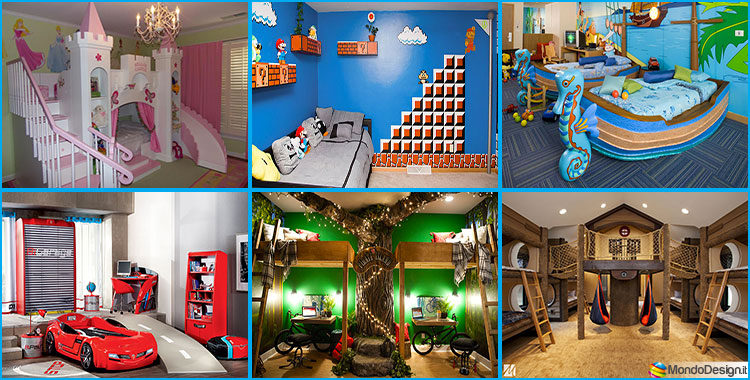 Camerette da sogno per bambini 25 idee originali che vi - Camerette per bambini design ...