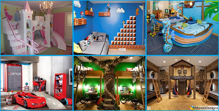 Camerette da sogno per bambini 25 idee originali che vi for Arredo camerette bambini originali