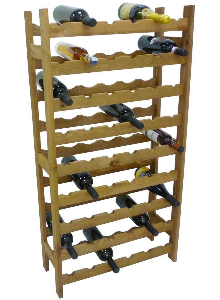 Modello di cantinetta vino realizzata in legno n.07