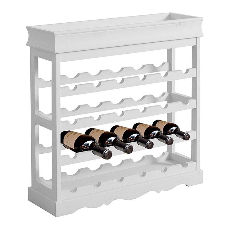 Modello di cantinetta vino realizzata in legno n.09