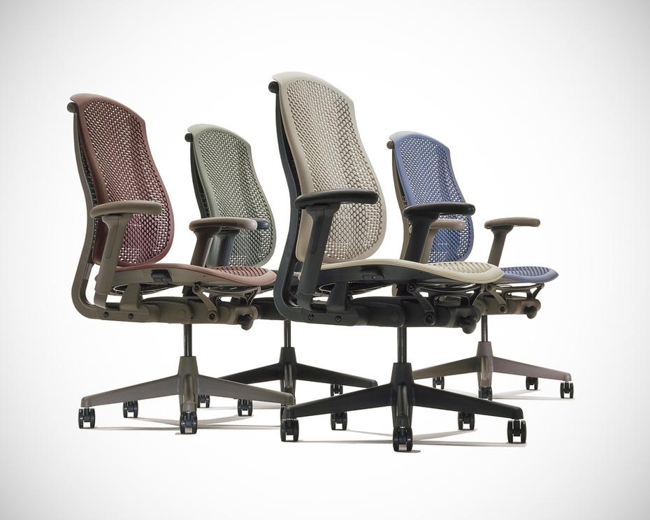 Modello di sedie da ufficio Celle chair di Herman Miller