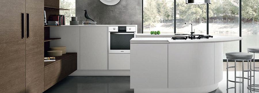 Modello di cucina circolare di design n.04