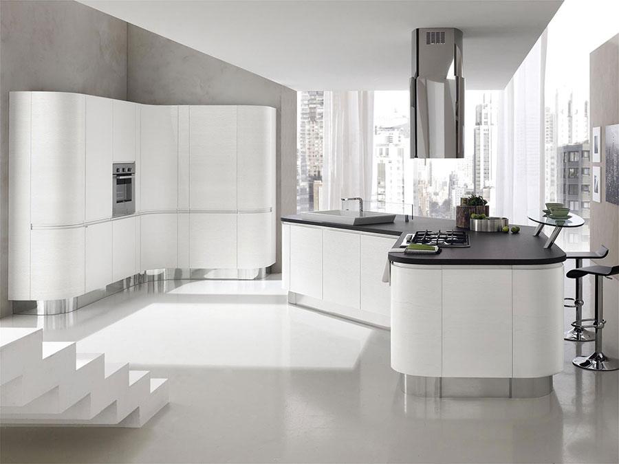 Modello di cucina circolare di design n.11