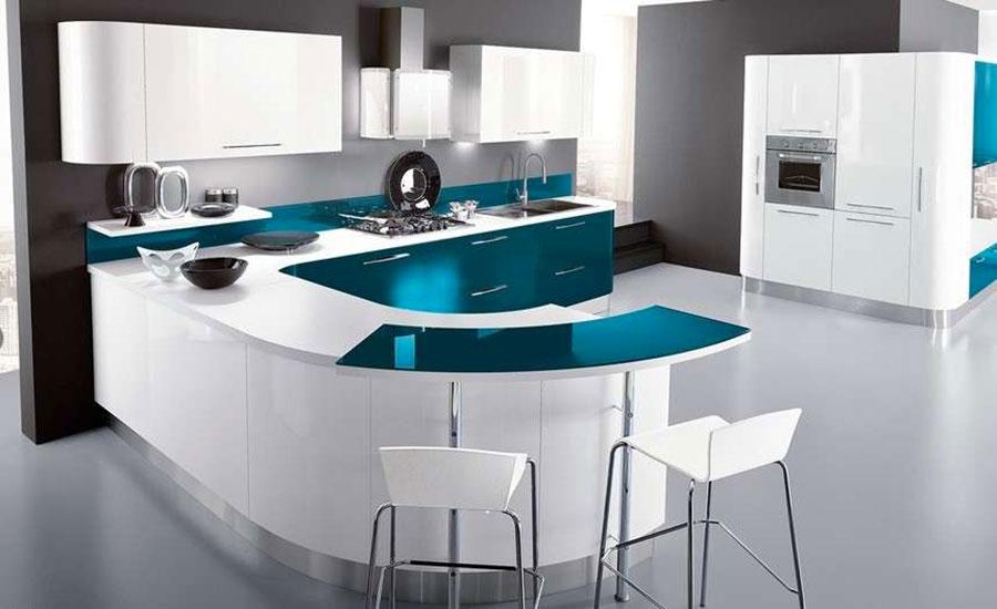Cucina Verde Petrolio: 20 Modelli di Design a cui Ispirarsi ...