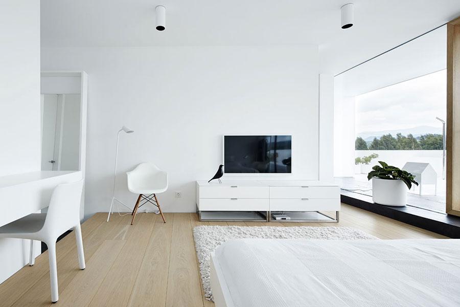 Arredi di lusso moderno bianco e nero n.11