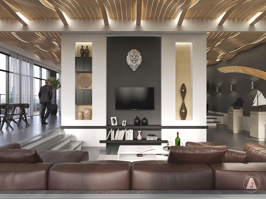interni di lusso 5 progetti di arredo moderno in bianco e