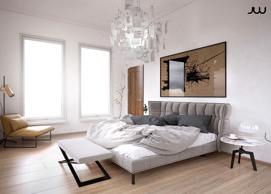 Interni di lusso 5 progetti di arredo moderno in bianco e for Arredi 3ds