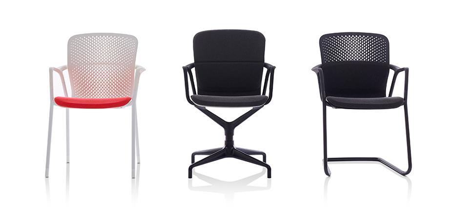 Modello di sedie da ufficio Keyn four star di Herman Miller