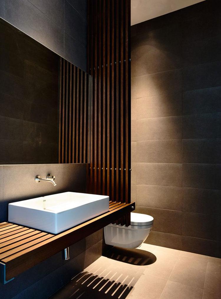Idea per la creazione di una parete in legno dal design originale n.02