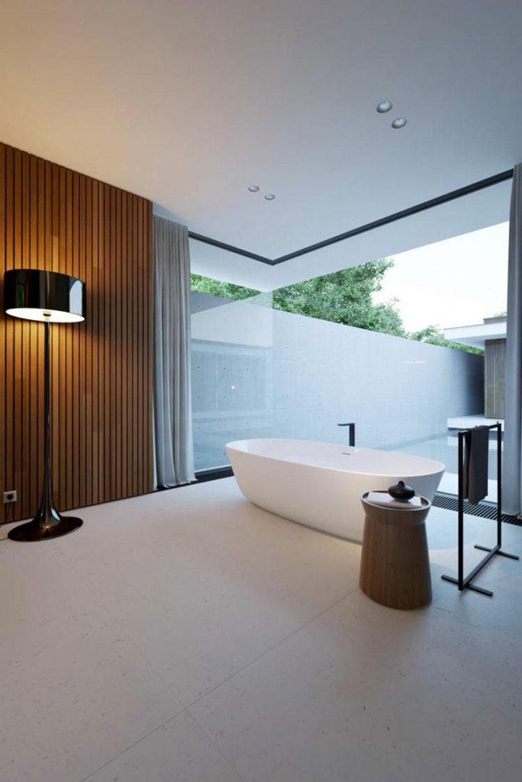 Idea per la creazione di una parete in legno dal design originale n.04