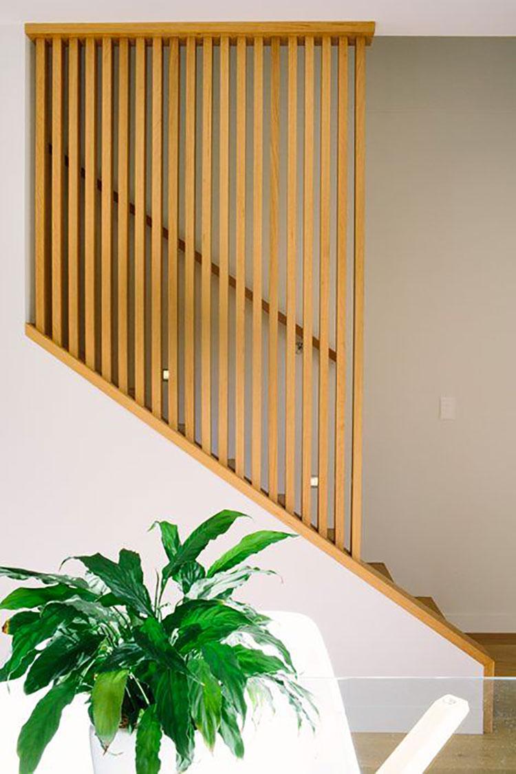 Idea per la creazione di una parete in legno dal design originale n.05