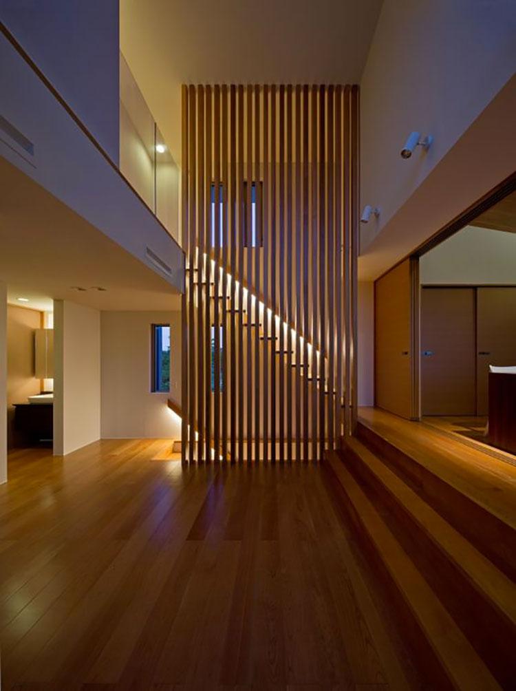 Idea per la creazione di una parete in legno dal design originale n.06
